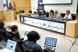 Foto: Mesa de abertura do 3º COFE, em Uberlândia/MG