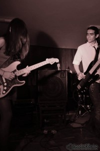 Foto: Sandra Ribeiro. A banda Nikka representou a Escola Estadual Polivalente.