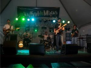 Banda Nova Fronteira no palco do #VSM2011